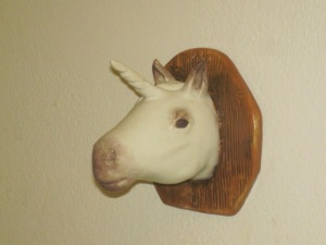 Cryptozooilogical Taxidermy, Miniature Unicorn